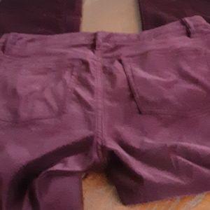 Lauren Ralph Lauren Pants & Jumpsuits - Ralph Lauren burgundy cotton velveteen pants